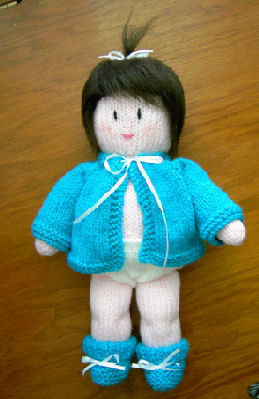 Delightful Doll And Toy Pattern